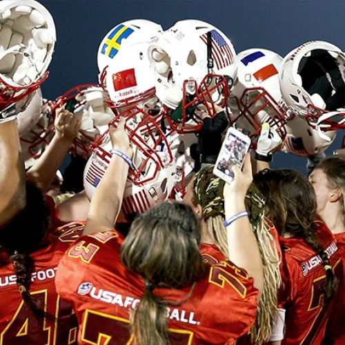 women's tackle football